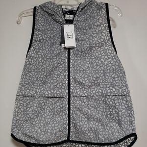 Nike packable vest with hoodie